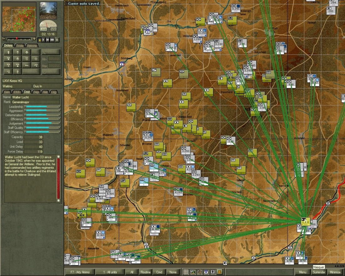 Battles from the Bulge - commandement -lxvi - k
