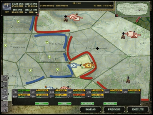 Close Combat - Panthers in the fog - campagne 1