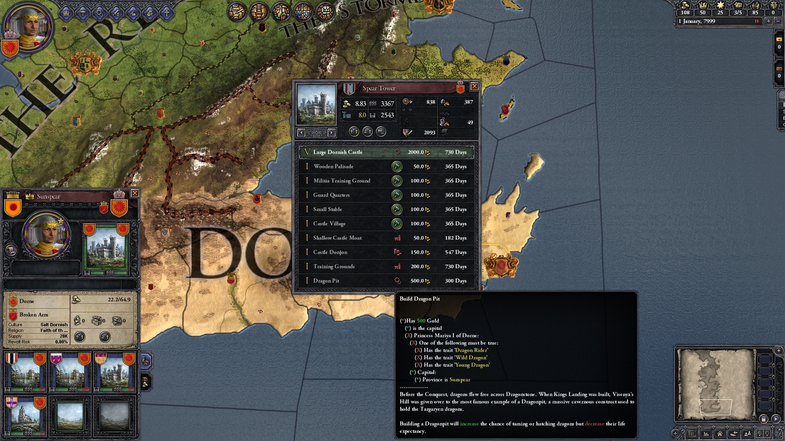 Crusader kings ii game of thrones