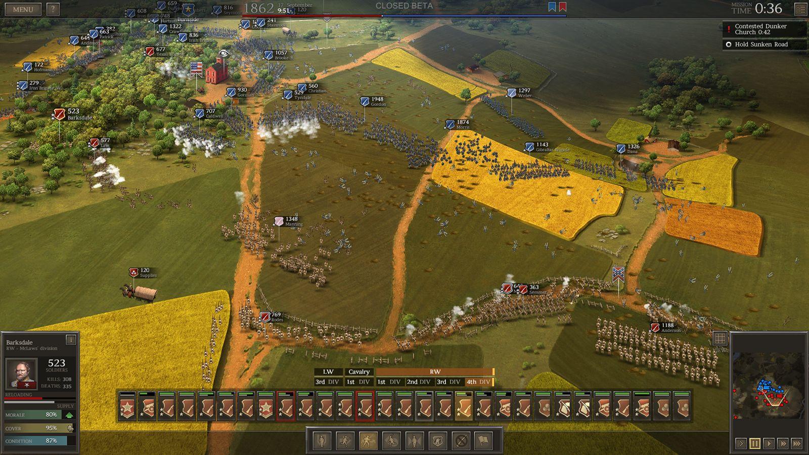 Ultimate general civil war mods
