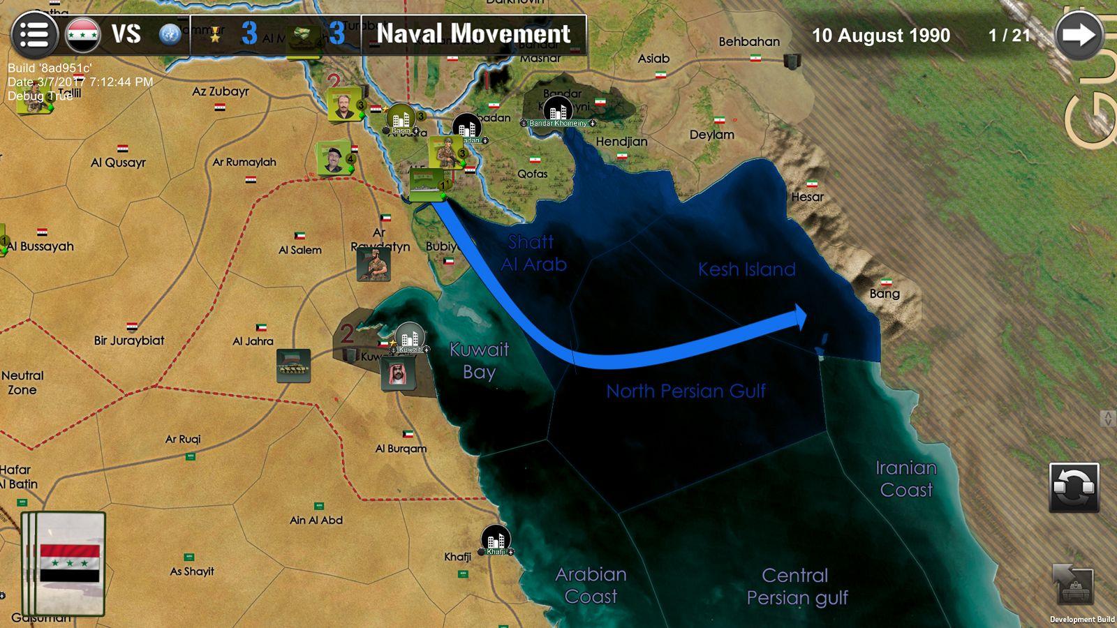 War Across the World Wars-across-the-world-0317-Gulf1990_NavalMovement_Screen2